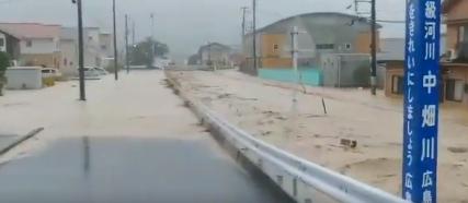 野呂川(広島)の水位のカメラ画像(写真)!ダム満水で氾濫の可能性?