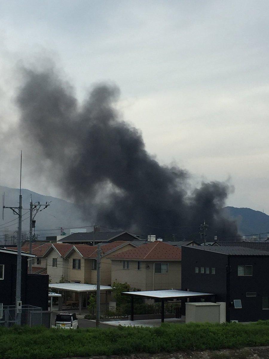東洋紡(敦賀市呉羽町)工場火事の画像や動画!火災の鎮火はいつ?